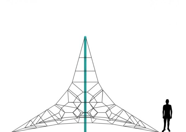 insterstellar incline roper climbing net pyramid 4