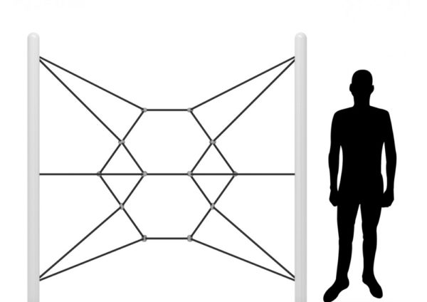 playground rope climber nebular net climber 4