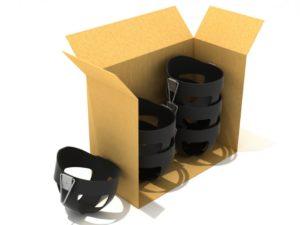 PCS002 BKBX Box of 6 Bucket Seats Black 1000x707