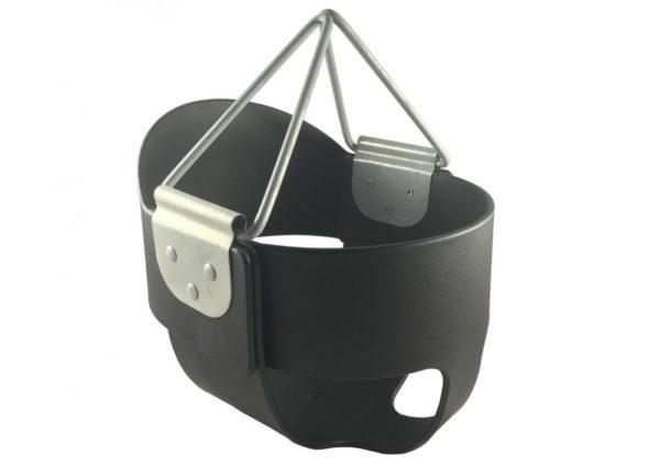 PCS002 BK High Back Bucket Swing Seat Black 1000x707
