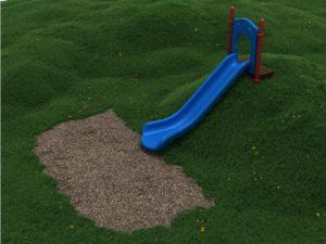PEL005 5ft Single Straight Embankment Slide 1000x707
