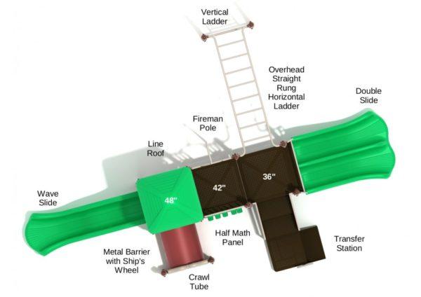 PKP265 Bar Harbor 3D Overhead 1000x707