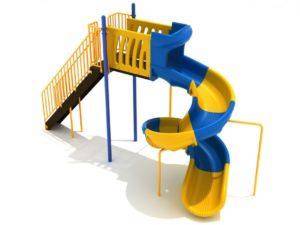 PSL029 8 feet Sectional Spiral Slide 1 1000x707