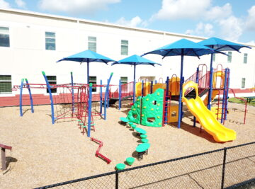 classical school commercial playground 48