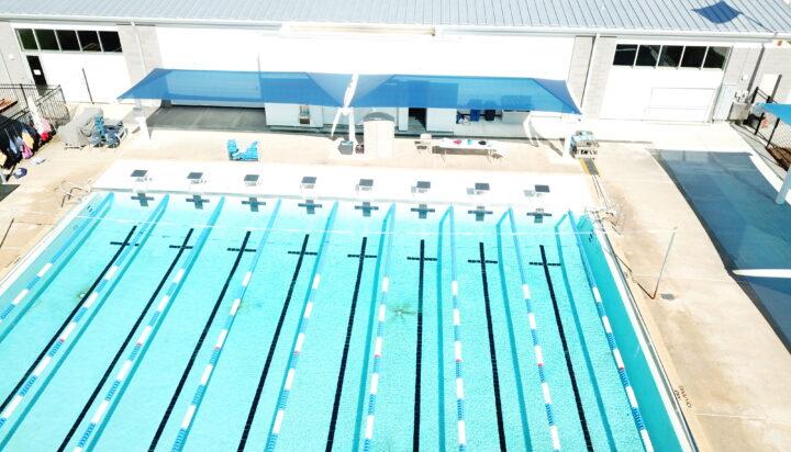 pool area bleacher shades 11
