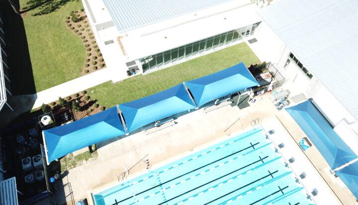 pool area bleacher shades 14