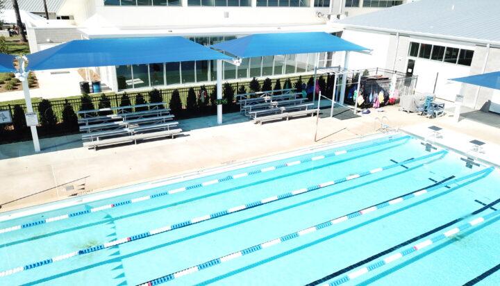 pool area bleacher shades 27