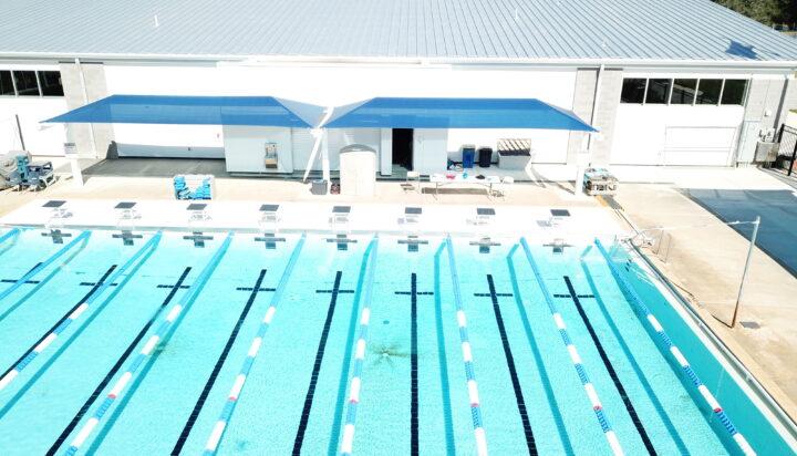 pool area bleacher shades 28