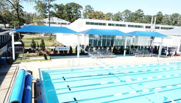 pool area bleacher shades 6