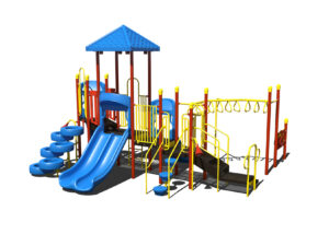 In Stock Quick Ship Commercial Playground Bambino Playground System 2