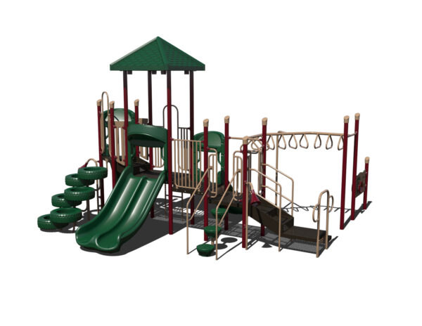 In Stock Quick Ship Commercial Playground Bambino Playground System 5