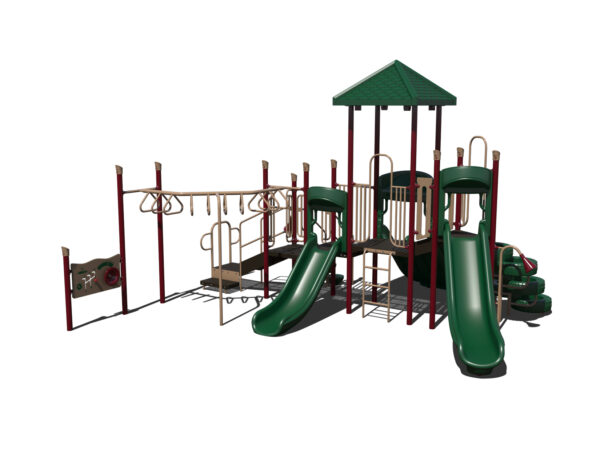 In Stock Quick Ship Commercial Playground Bambino Playground System 6