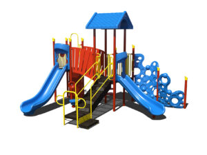 In Stock Quick Ship Commercial Playground Equipment Bubbles of Fun Playground System 3