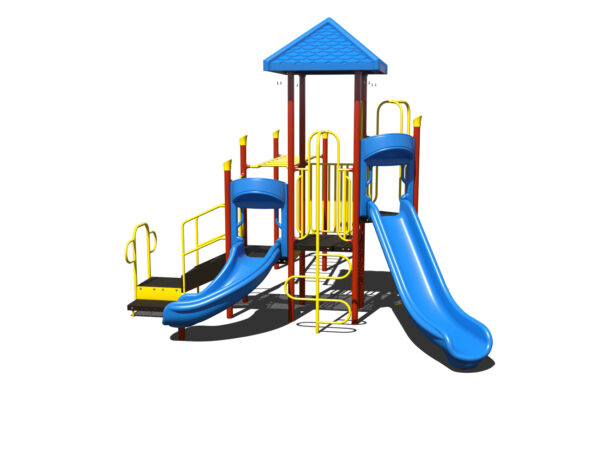 In Stock Quick Ship Commercial Playground Equipment Luxor Playground System 2