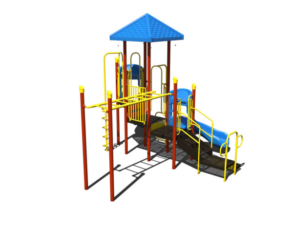 In Stock Quick Ship Commercial Playground Equipment Luxor Playground System 3