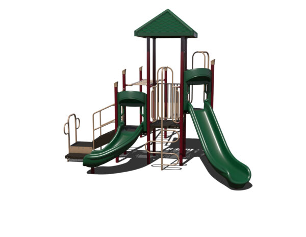 In Stock Quick Ship Commercial Playground Equipment Luxor Playground System 5