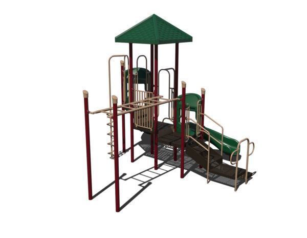 In Stock Quick Ship Commercial Playground Equipment Luxor Playground System 6