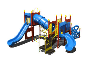 In Stock Quick Ship Commercial Playground Fancy Pants Playground System 3