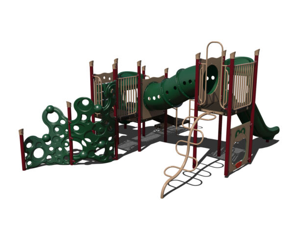 In Stock Quick Ship Commercial Playground Fancy Pants Playground System 5