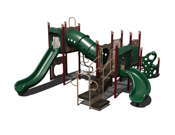 In Stock Quick Ship Commercial Playground Fancy Pants Playground System 6