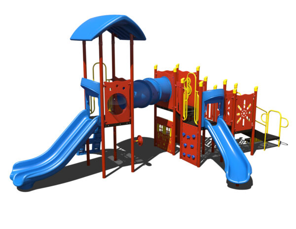 In Stock Quick Ship Commercial Playground Hats Off Playground System 3