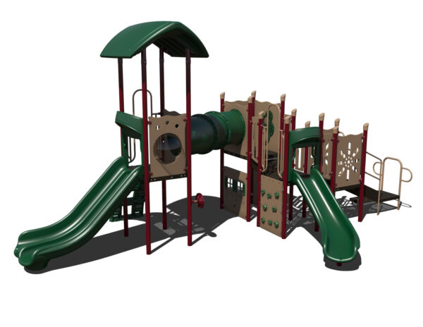In Stock Quick Ship Commercial Playground Hats Off Playground System 6