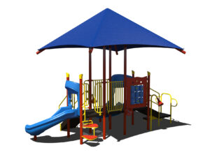 In Stock Quick Ship Commercial Playground Rays of Fun Playground System 4